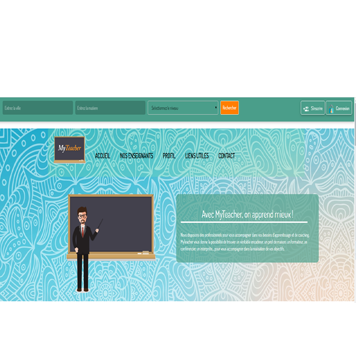 website template image